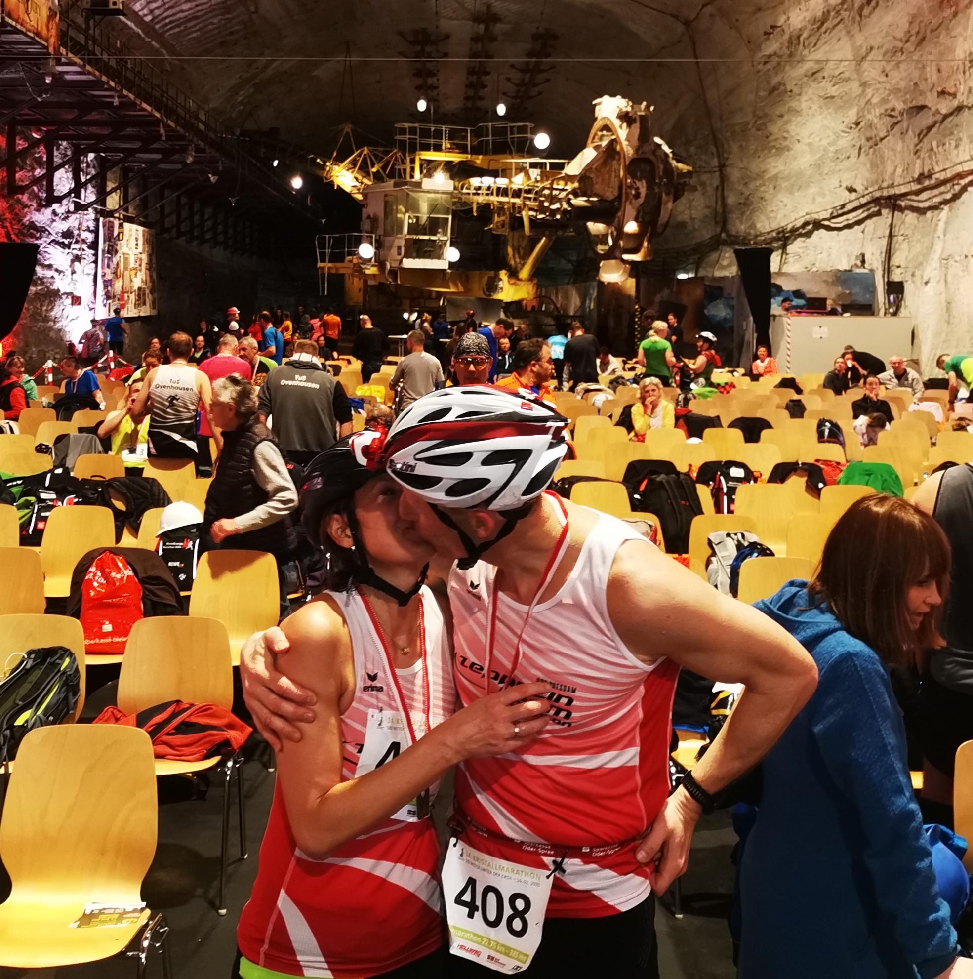 Kristall- Halbmarathon 400m unter Tage