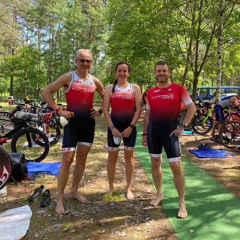 Saisoneröffnung beim Spreewald-Triathlon